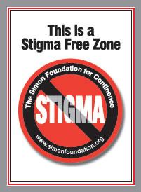 stigma free zone sign