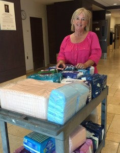 diaper banks collection delivery