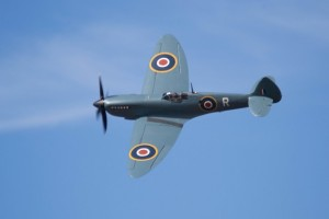spitfires flown by the Guinea Pig Club
