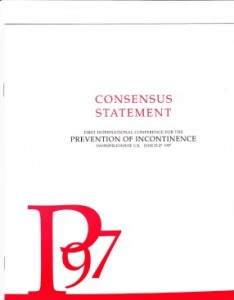 Prevention of Incontinence