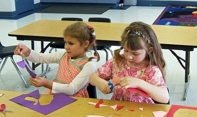 children pediatric classroom