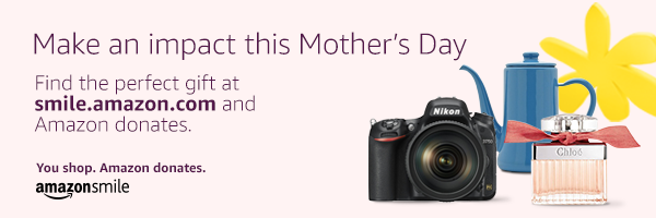 amazonsmile mother's day 2019 donation